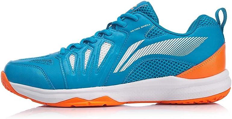 LI-NING 2019 AYTP011-1 - Zapatillas de bádminton, Color Negro, Azul (Aytp011-2-blue), 43 EU: Amazon.es: Zapatos y complementos