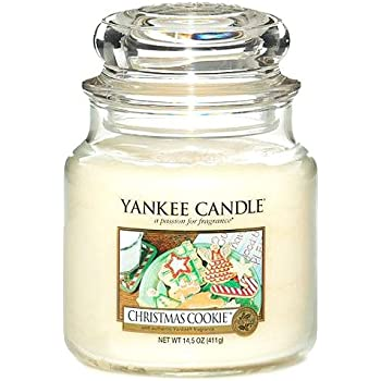 Yankee Candle Company 114504Z Medium Jar Candle Christmas Cookie