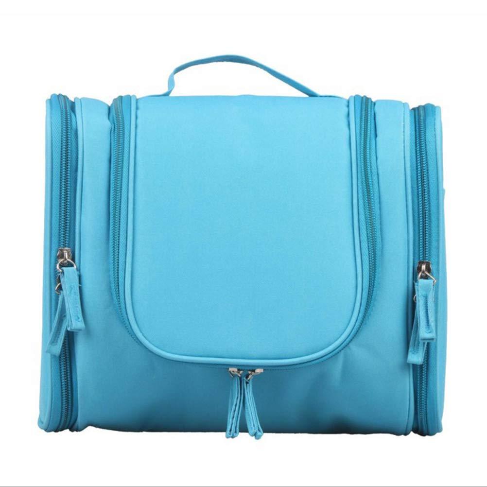 OUNONA Aufhä ngen Toiletry Organizer tragbar Kosmetik Tasche Wasserdichte Reise Make-up Tasche fü r Frauen Mä dchen (blau)