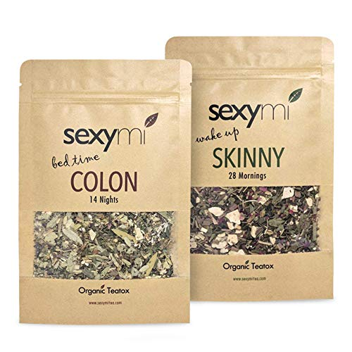 - sexymi Tea 28 day Teatox: Boost Metabolism - Burn Stored Fat - Reduce Bloat - Boost Energy - Better Sleep - Fix Digestive Issues and so much more! Formulated for results.