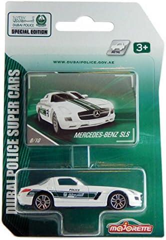 Sehr Selten Mercedes Audi Majorette Dubai Police Super Cars Special Edition