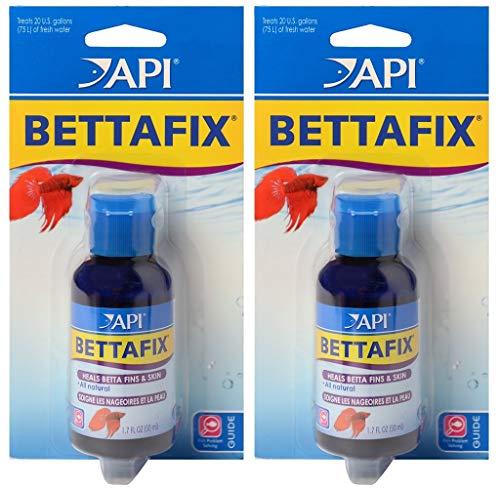 (2 Pack) API Bettafix Anti‑Bacterial Fish Remedy (1.7 Ounce Per Pack)
