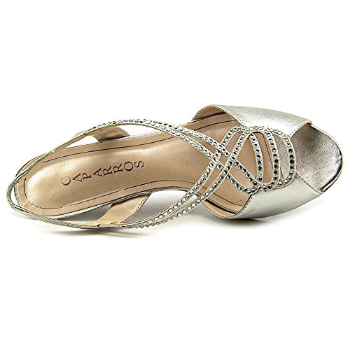 Philomena Silver Metallic Women's Sandals Caparros Slingback Dress 7q5gxn1S