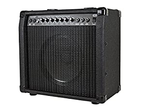 monoprice 611800 40 watt 1x10 guitar combo amplifier with spring reverb musical. Black Bedroom Furniture Sets. Home Design Ideas