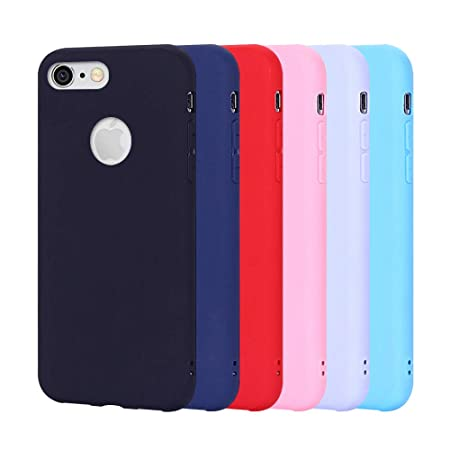 Hülle iPhone 6S Plus, Schutzhülle 6S Plus Ultradünn Handyhülle Apple iPhone 6 Plus Weiche Silikon TPU Tasche, Stoßfest Anti-S