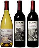 "Dumas Station ""Hell on Wheels"" Cab, Merlot & Chardonnay Mixed Wine Pack, 3 x 750 mL"