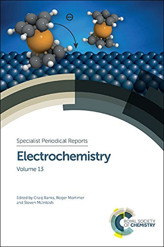 Electrochemistry: Volume 13 (Specialist Periodical Reports)