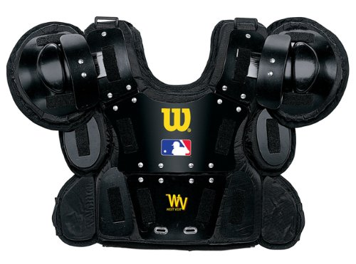 Wilson Pro Gold Umpire's Chest Protector (Small-Medium, 11-Inch)