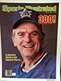 Gaylord Perry Signed Sports Illustrated Photo 11x14 baseball Seattle Mariners