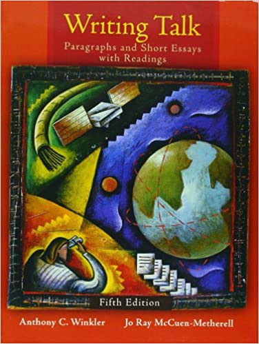 amazon com  writing talk  paragraphs and short essays with    amazon com  writing talk  paragraphs and short essays   readings    mywritinglab student access code card    th edition         anthony c