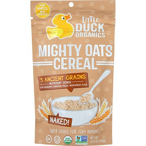 little-duck-organics-cereal-organic-mighty-oats-naked-age-6-months-plus-375-oz-case-of-6-by-little-d