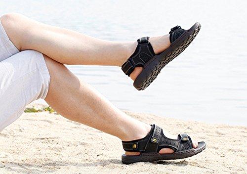 SK Studio - Zapatos con tacón Hombre negro