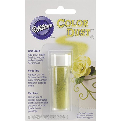(Wilton 703-110 Color Dust Food Decorative, Lime Green )