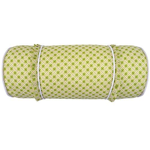 (WAVERLY Emma's Garden Decorative Pillow, 7x20, Blossom)