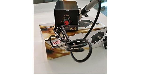 Mini Estación Soldadura SMD con control de la temperatura mkc-927 Ref 843013: Amazon.es: Electrónica