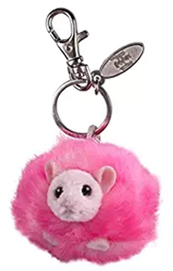 Wizarding World of Harry Potter Pink Pygmy Puff Plush Keychain