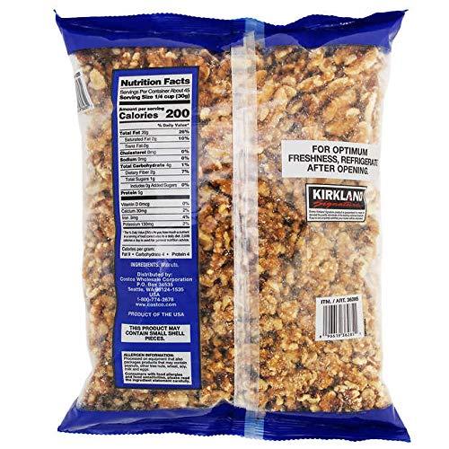 Kirkland Signature Expect More Walnuts, 48 oz. 10 lb