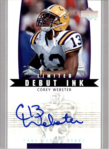 (2005 Upper Deck Rookie Debut Ink Limited #DICO Corey Webster Auto - NM-MT)