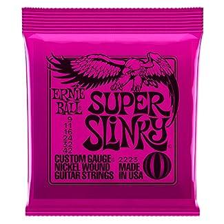 Ernie Ball LS8084 Jeu de cordes Super Slinky 9-42