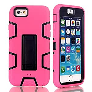 iPhone 6 Case-5.5 inch,iPhone 6 hard Case,Ezydigital Carryberry iPhone 6 3 in 1 Hybrid Case for iPhone 6