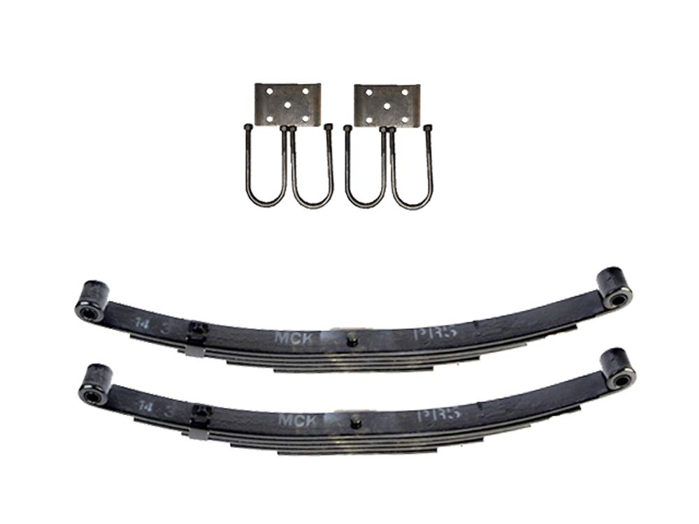 Trailer Double Eye Spring Suspension Kit for 3'' Tube - 5200 lb Axles by TK Trailer Parts