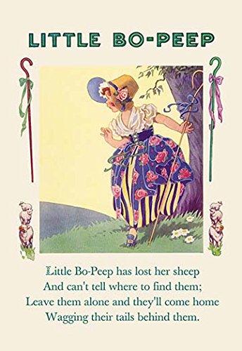 Little Bo-Peep Fine Art Canvas Print (20