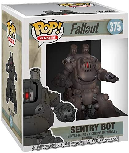 Multicolor Fallout Games Sentry Bot 6