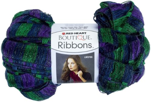 Red Heart Boutique Ribbons Yarn, Grapevine (E790.1933) ()