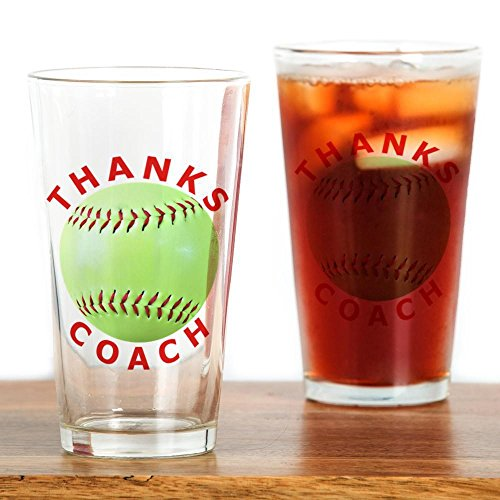 CafePress Softball Coach Thank You Unique Gifts Drinking