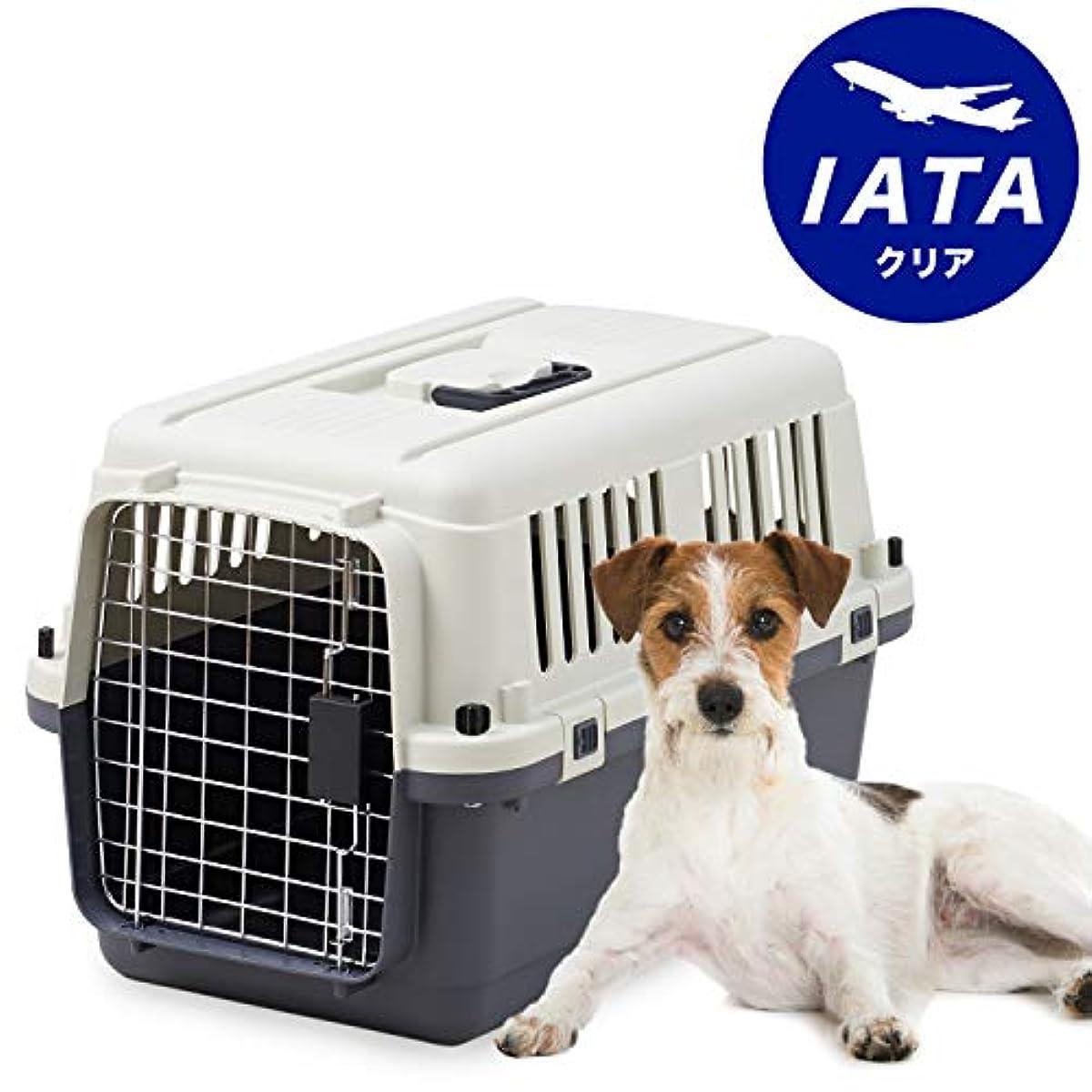 [해외] 【SPACE OFT】 애완동물 켄 네루・퍼스트 클래스 L60 【외치수】폭40×오60.5×고40.5CM 본체 중량(약):3KG 개 캐리 고양이 캐리 애완동물 캐리 게이지 하드 캐리 손잡이 부착 실내복 하우스 IATA안전 기준 클리어 ※스틸제 문의 그물코(그물망)이 화상으로 부터 세세하게 됩니다.미리 승낙의 돔 아무쪼그린 부탁드립니다.
