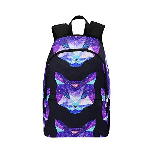 Galaxy Cat Custom Casual Backpack School Bag Travel Daypack