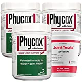 3PACK PhyCox ONE Soft Chews (360 Soft Chews) + FREE JOINT TREATS 60 Soft Chews
