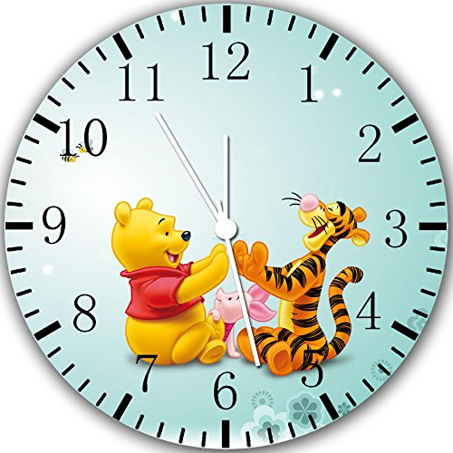Winnie The Pooh Borderless Wall Clock Y06 Nice For Gift or Room Wall Decor