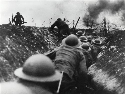 WWI TRENCHES GLOSSY POSTER PICTURE PHOTO world 1 war trench
