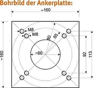 schneider universal bodenplatte gewinde schief reingeschnitten sonst ok. Black Bedroom Furniture Sets. Home Design Ideas