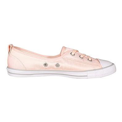 fedb88df5a9 Converse Chucks CT AS Ballet Women s Ballerina Lace Slip 555871 °C Pink