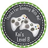 XBOX Birthday Party Sticker Favors