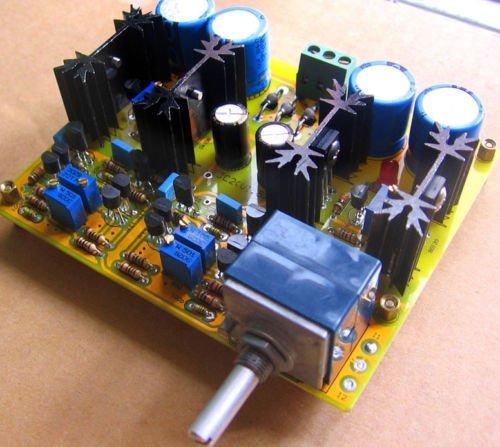 JC-2 Preamplifier Class A Dual differential FET input PER-AMP Assembled board JINGLUYAO