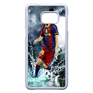 Lionel Messi For Samsung Galaxy Note 5 Edge Cell Phone Case White BTRY20127