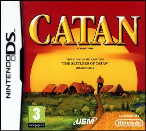 CATAN - The board game The Settlers of Catan for Nintendo DS by USM: Amazon.es: Videojuegos