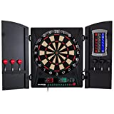 Bullshooter by Arachnid Cricket Maxx 1.0 Electronic Dartboard Cabinet Set