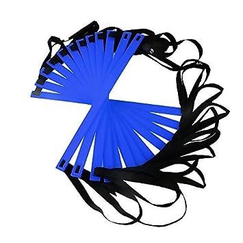 Ohuhu/® Echelle Agilit/é//Echelle de Coordination//Ladder//Echelle Football avec Valise Noire pour Les Exercices de Vitesse et de Coordination