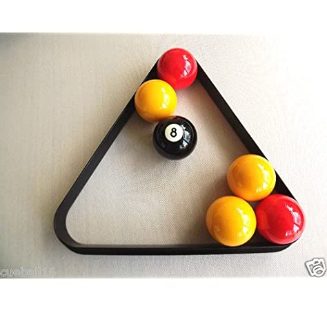 Homegames Pub Pool Table Ball Triangle UK 2 Inch Billiard Size by Matchplay billiards: Amazon.es: Deportes y aire libre