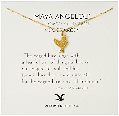 Gold Bird Charm Pendant (Dogeared