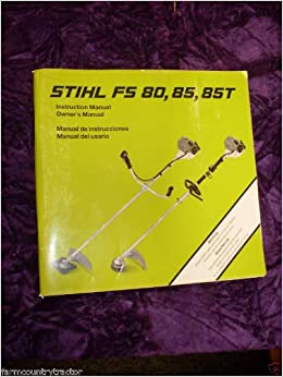 New stihl owner's instruction manual book weed string trimmer fs.