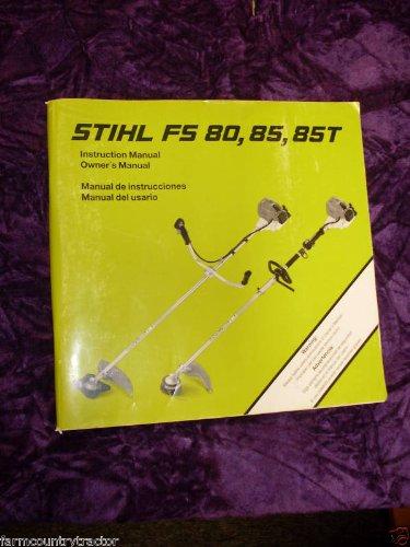Oem stihl fs 36 fs 40 trimmer owners operators instruction manual.