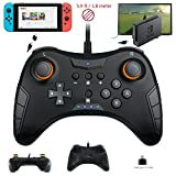 Whiteoak Switch Pro Controller, USB Wired Gaming Gamepad Joystick for Nintendo Switch, Steam, PC(Windows XP/7/8/10), PS3, Android Review
