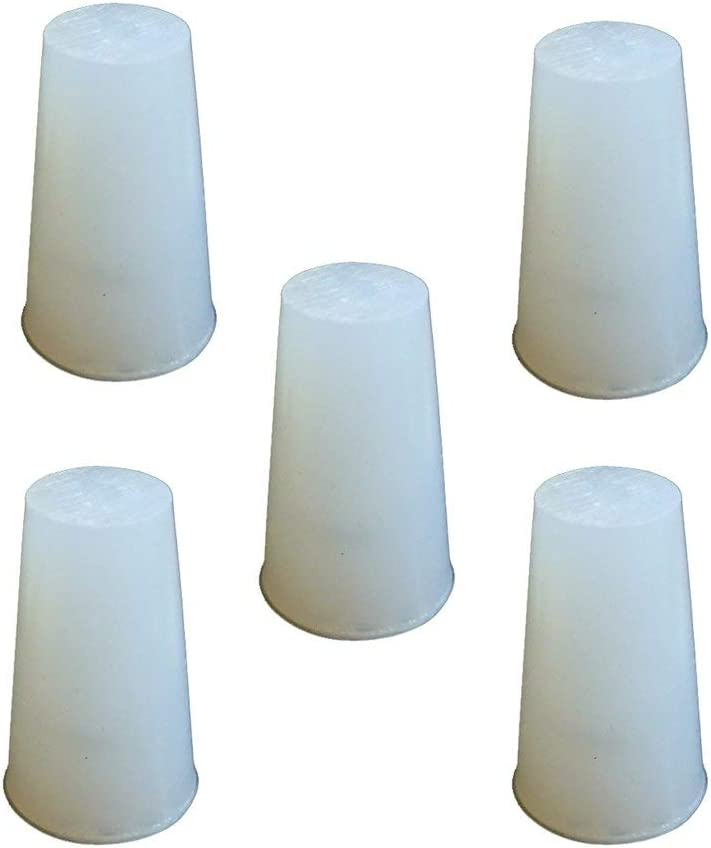 PUL FACTORY Solid Silicone Stopper Size #4 - Pack of 5 [並行輸入品]