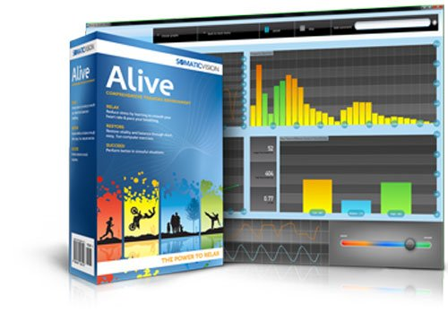 Alive Clinical Active Feedback Software Suite for IOM Finger Sensor