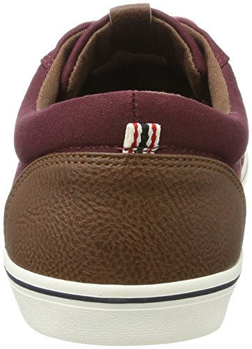 AW amp; Herren Royale Royal Sneaker Jfwvision Port Mixed JACK Port JONES Rot 0F7qwwp